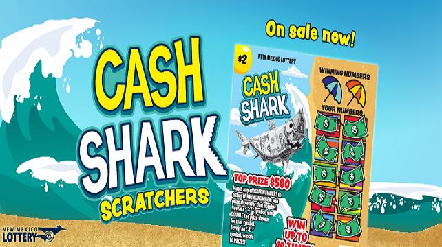 """""""Cash Shark"""" Scratchers"""