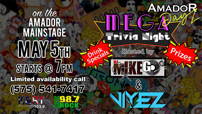 Amador Live – Mega Trivia Night