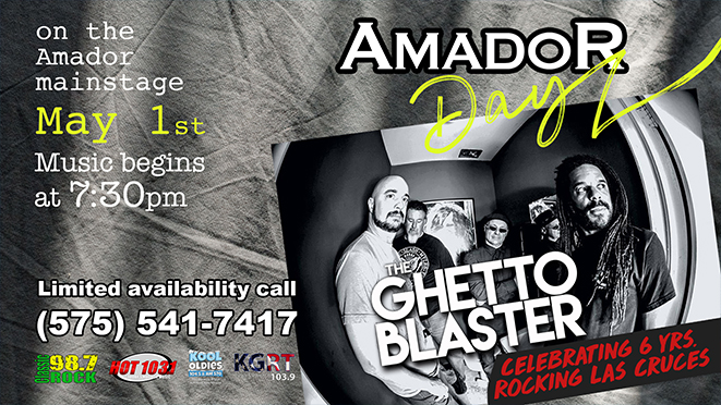 Amador Days – The Ghetto Blaster