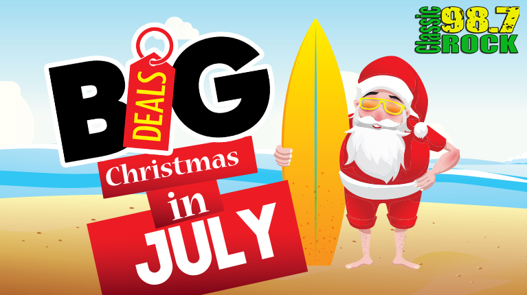 Big Deals Christmas in July!