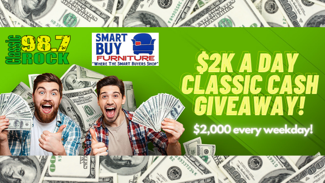2K a Day Classic Cash Giveaway!