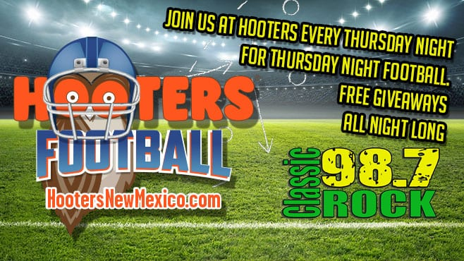 Join us at HOOTERS!