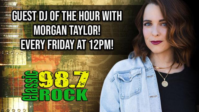 Morgan Taylor, Guest DJ Every Friday @ Noon