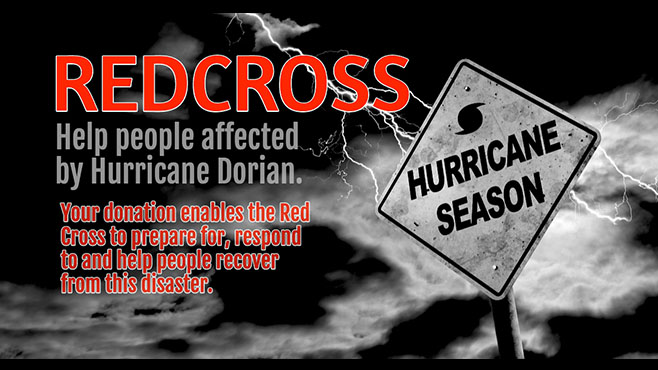 Help People Affected  by Hurricane Dorian