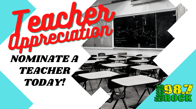 Nominate a Teacher Today