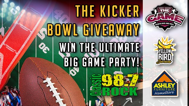 The Kicker Bowl Giveaway
