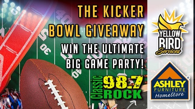 The Kicker Bowl Giveaway